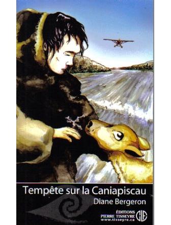 Tempête sur la Caniapiscau. Illustrations de couvertures de livre pour les éditions Pierre Tisseyre. 2005-2007